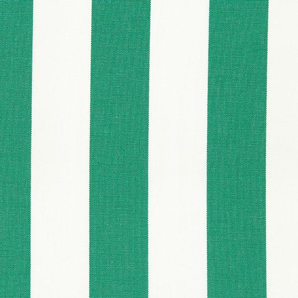 Tissu d'extérieur Stores Rayures Toldo – blanc/vert