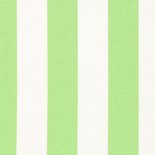 Markisen Outdoorstoff Streifen Toldo – weiss/hellgrün