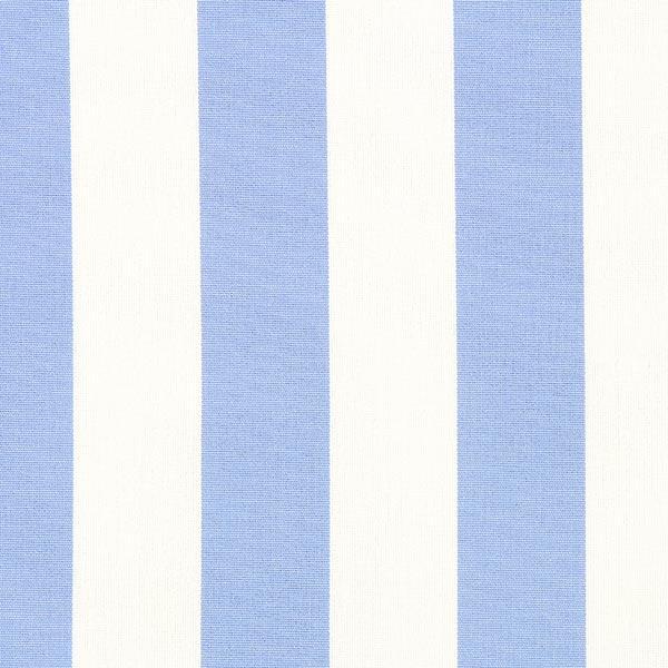 Markisen Outdoorstoff Streifen Toldo – weiss/hellblau
