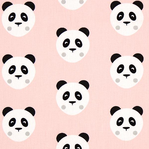 Cretonne Maotey Panda – rosa