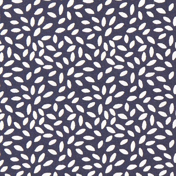 Baumwollstoff Cretonne kleine tupfen – marineblau