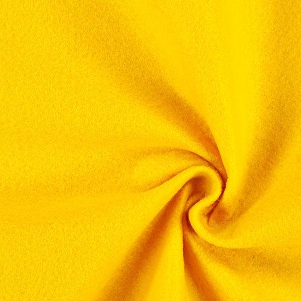 Filz 100cm / 1mm stark – gelb