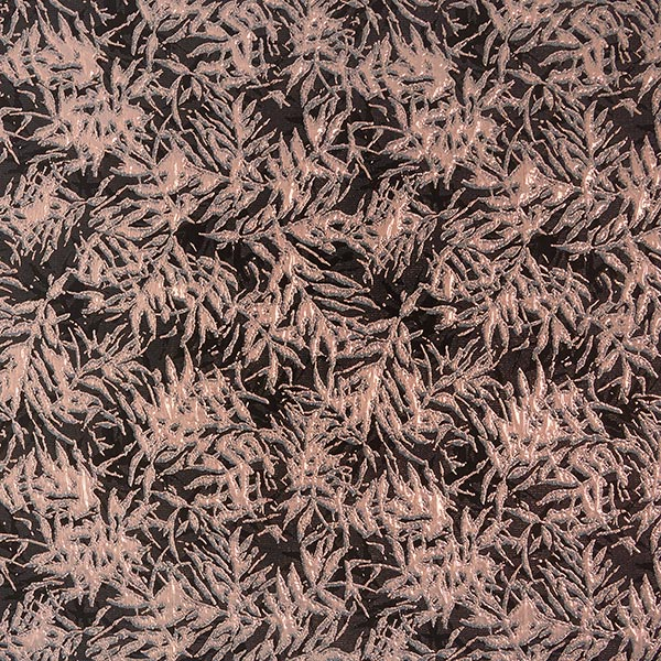 Jacquard Lurex – rose/bronze