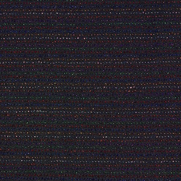 Jersey scintillant Couleur arc-en-ciel – noir