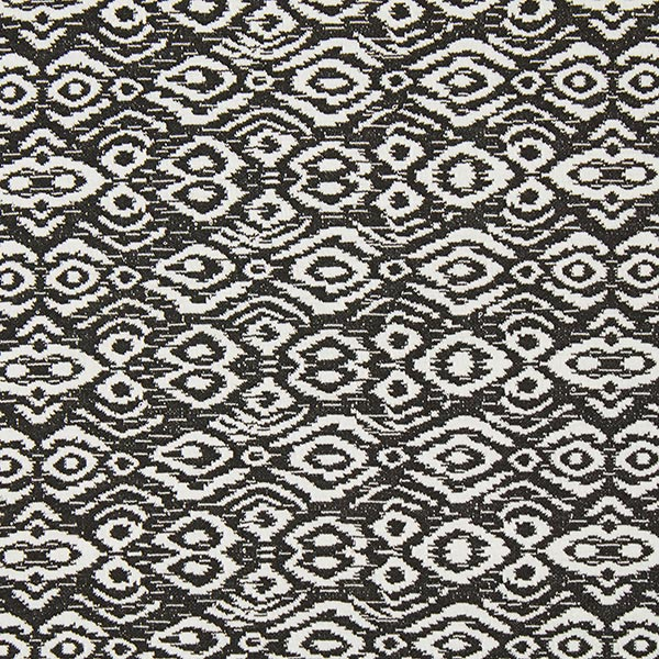 Jersey Jacquard Inca – noir/blanc