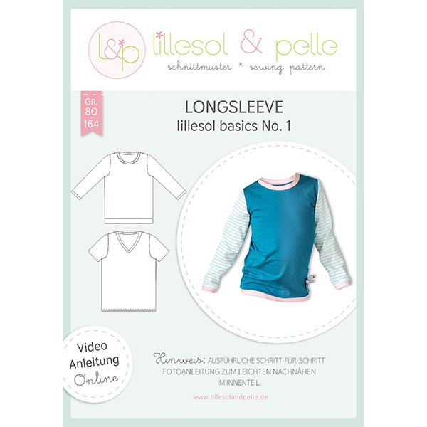 Haut à manches longues, Lillesol & Pelle No. 1 | 80 - 164