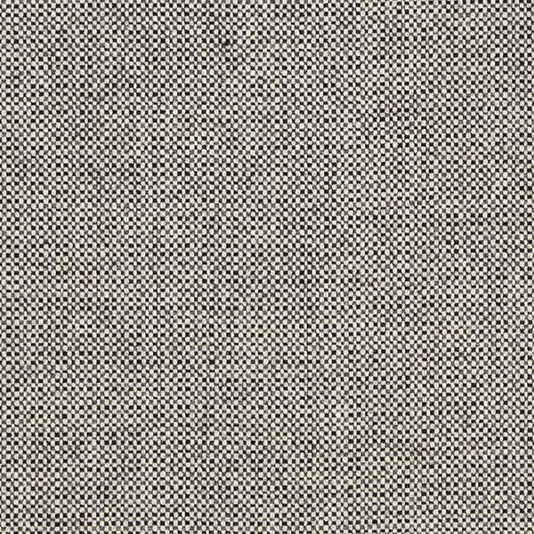 Tissu pour pantalon et costume Tissu de laine Tweed damier – noir/blanc