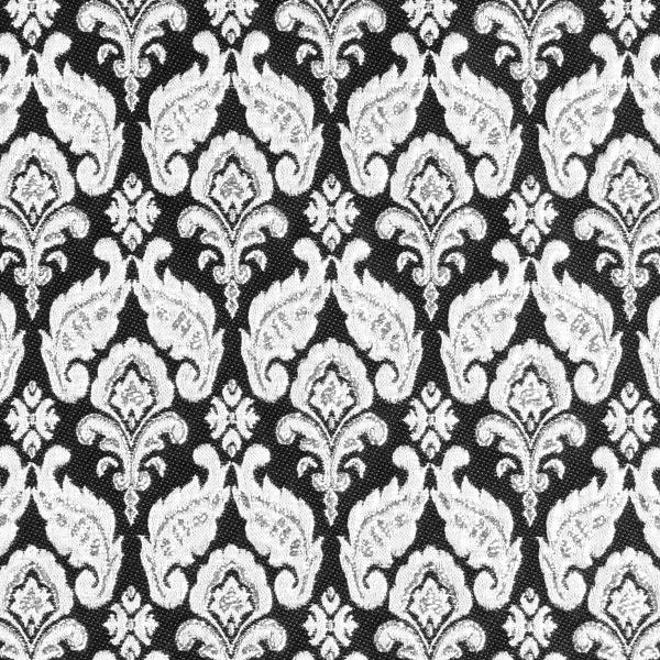 Tissu carnaval Brocart Jacquard royal – argent/noir