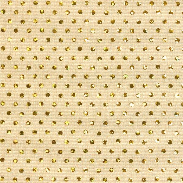 Paillettenstoff Lycra Hologramm – gold