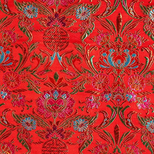 Jacquard Ornements – rouge