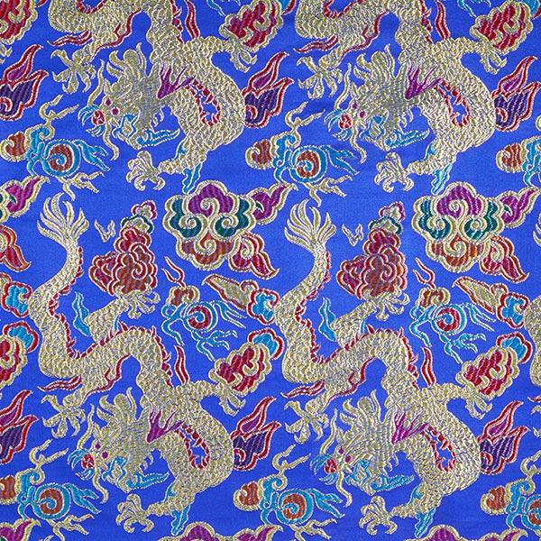 Jacquard Dragon – bleu roi