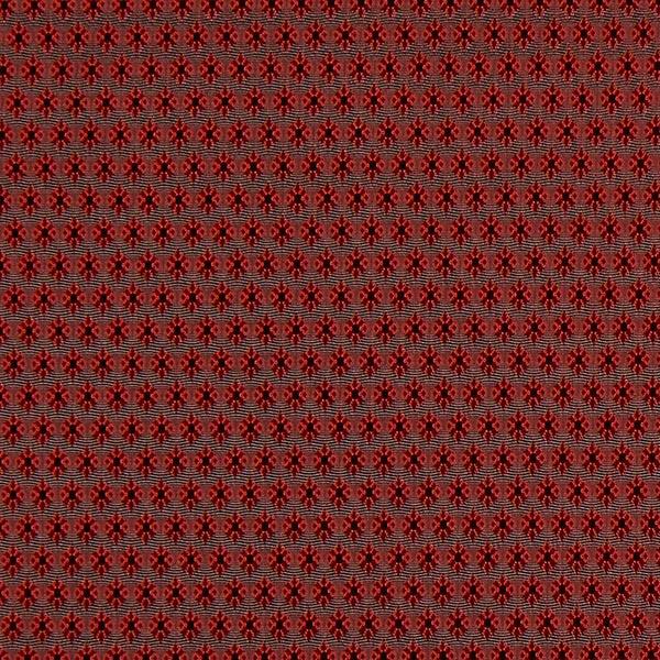 Futterstoff Jacquard Minirauten – rot