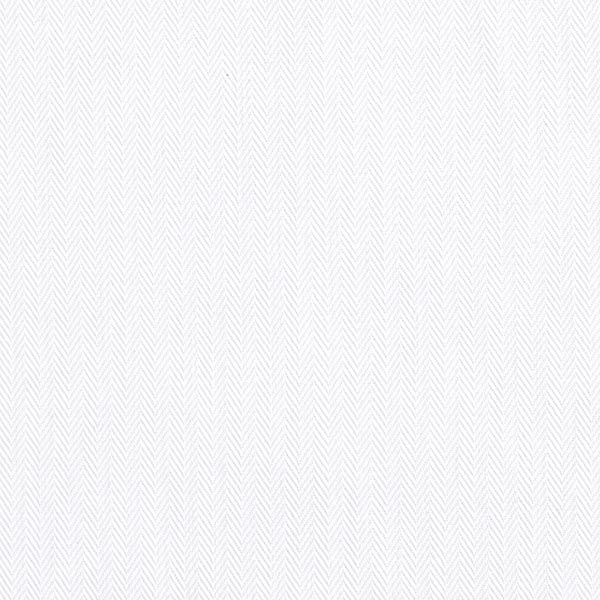 Tissu pour chemise et chemisier Chevrons – blanc