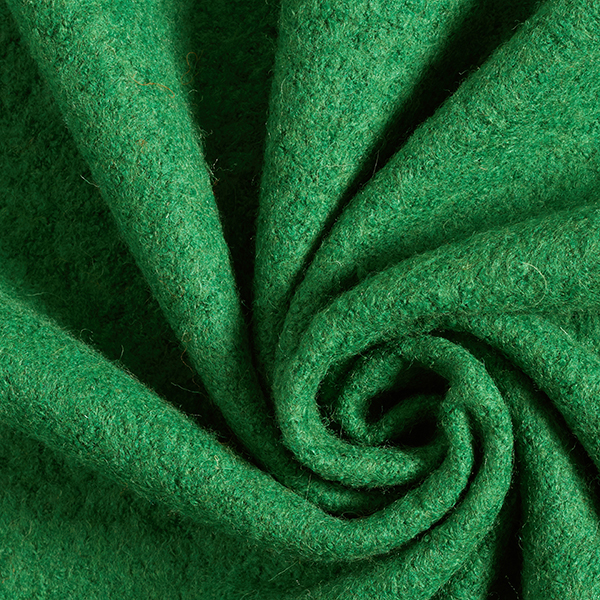 Tissu pour manteau foulé – vert