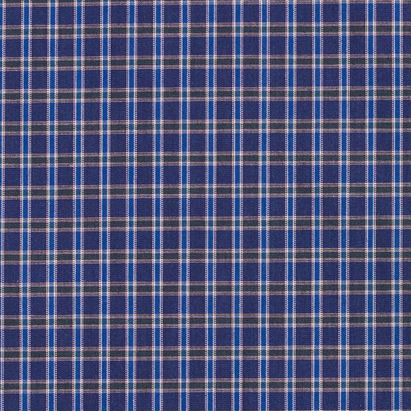 Tissus polaires Tissu de coton mélangé à carreaux – bleu marine/vert