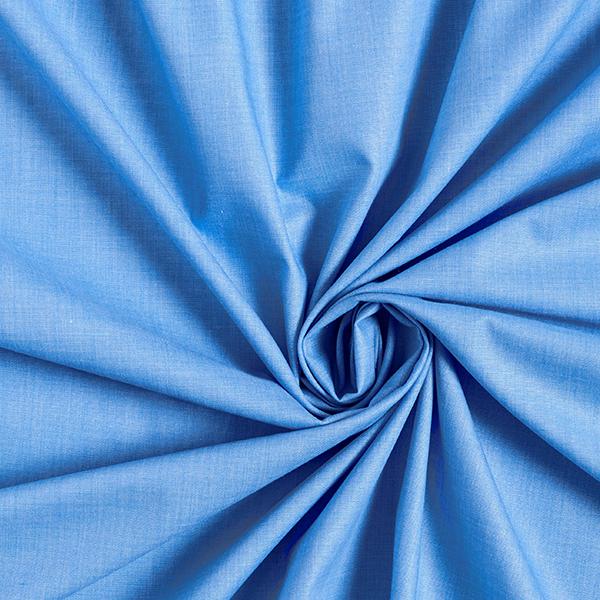 Tissus polaires Tissu de coton mélangé Uni – bleu jean