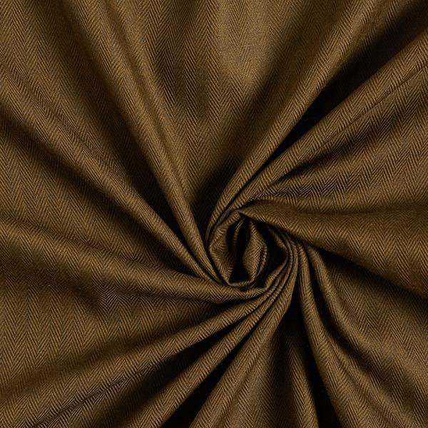 Tissu de coton mélangé Chevron – olive