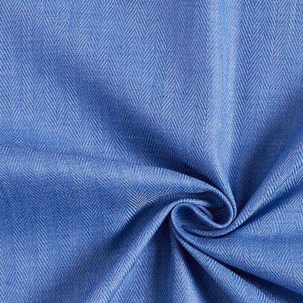 Tissu pour chemise Chevrons – bleu pigeon
