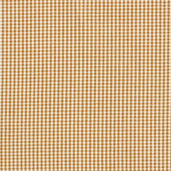 Tissu pour chemise Carreaux Vichy – ocre