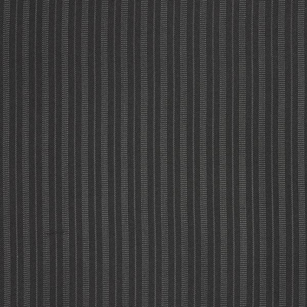 Tissu de doublure Mélange viscose Rayures tissées – noir