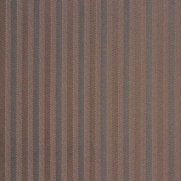 Tissu de doublure Mélange viscose Rayures tissées – marron