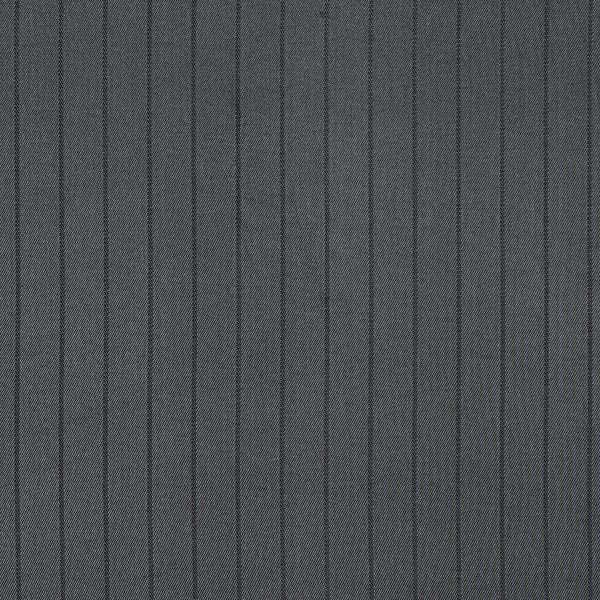 Tissu de doublure Mélange viscose Rayures verticales – anthracite
