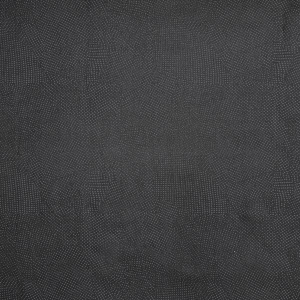 Futterstoff Viskose Streupunkte – schwarz
