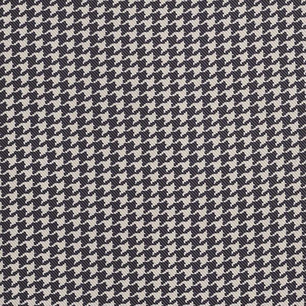 Tissu de doublure Imprimé pied-de-poule – sable/noir