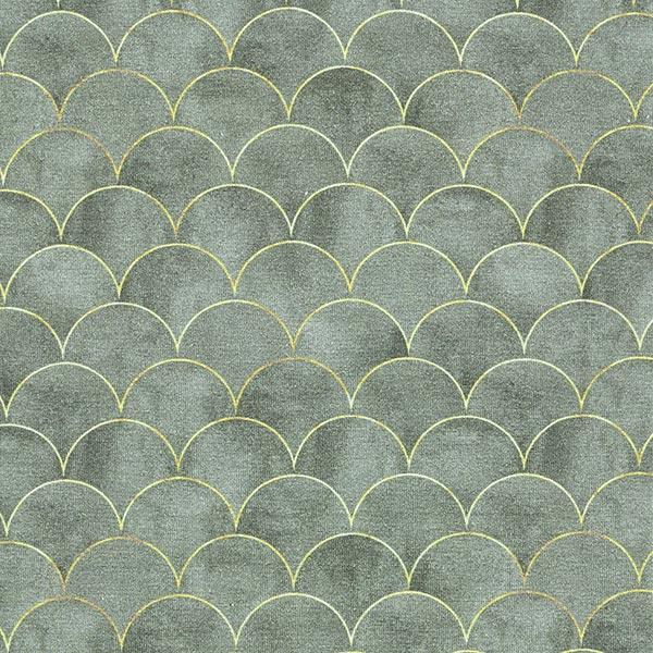 Jersey viscose Ecailles – gris foncé