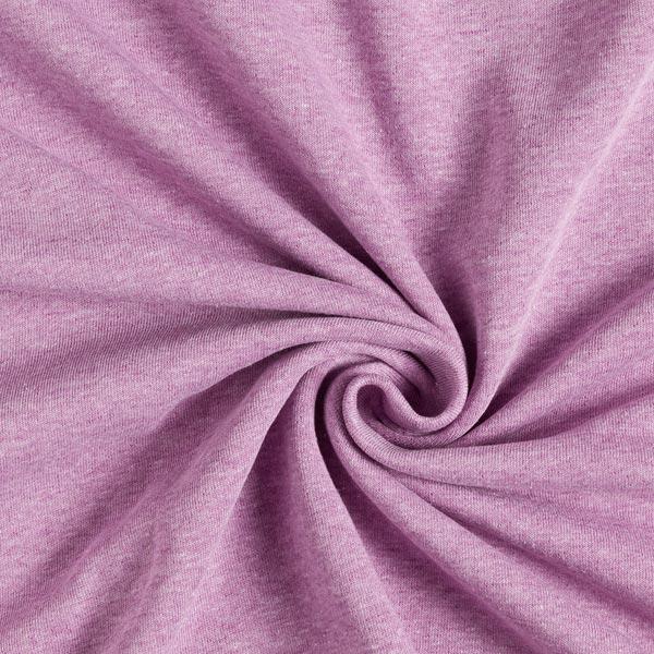 Sweatshirt Melange Hell – pastellviolett