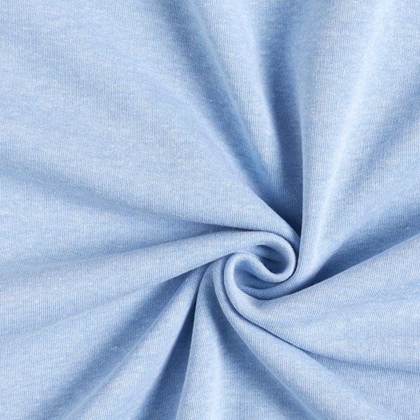 Sweatshirt Melange Hell – hellblau