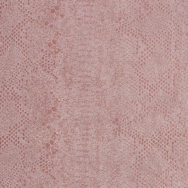 Suede-Stretch Wildlederimitat Schlangenhaut – rosé