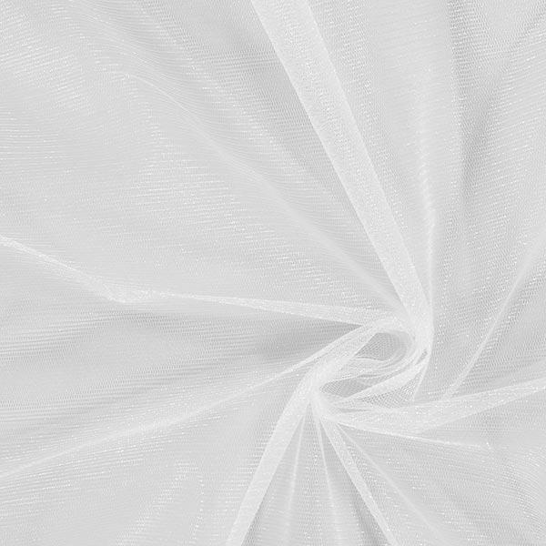 Tulle scintillant – blanc