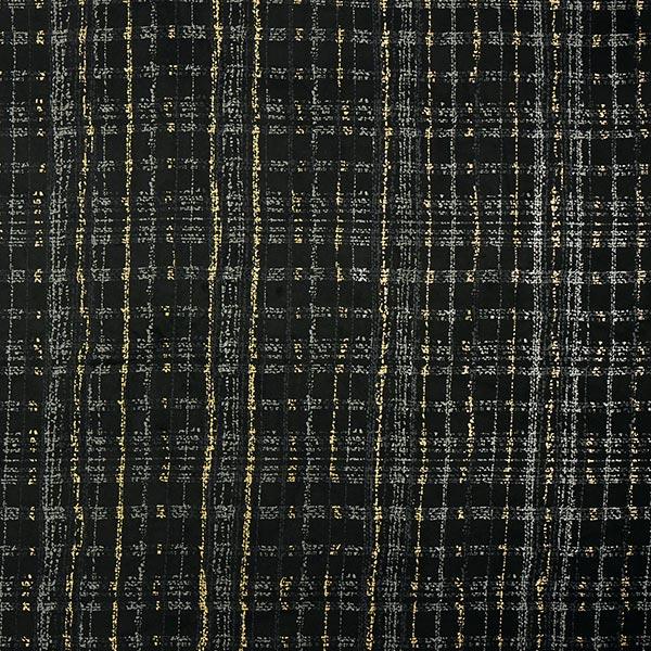 Scuba Impression sur pellicule structure de carreaux – noir/gris