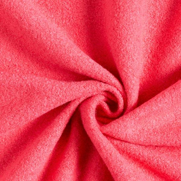 Tissu pour manteau Laine bouillie Kimmi – rose néon