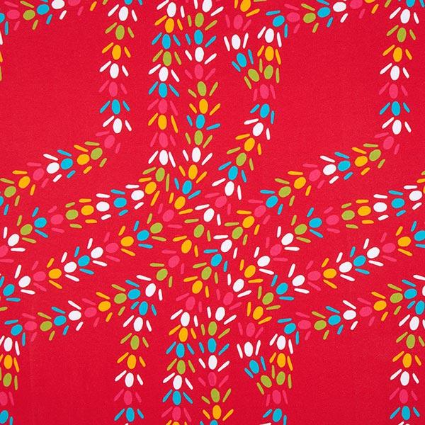 Sweatshirt bunte Ameisenstraße | Designerella.bella – rot