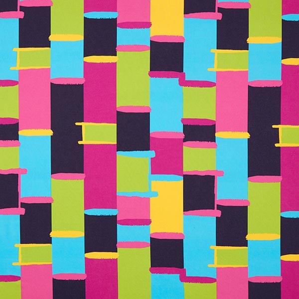 Baumwollstoff Popeline buntes Raster | Designerella.bella – pink