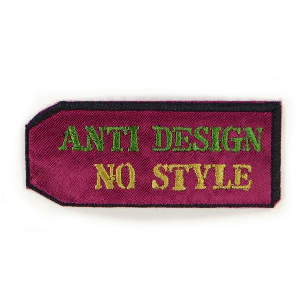 ANTI DESIGN NO STYLE