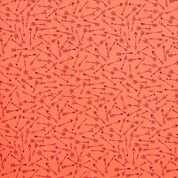 Sweatshirt gratté Flèches | PETIT CITRON – homard/rouge rouille