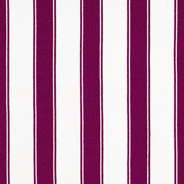 Tissu pour chemisier Viscose Crêpe Rayures verticales larges – rouge bordeaux/écru