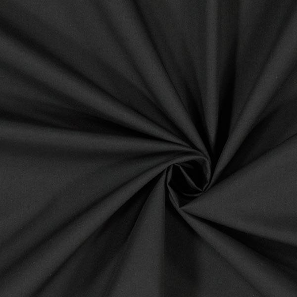 Leichtes Taschenfutter Baumwollmischung – schwarz