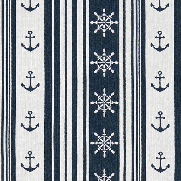 Jacquard Maritime Rayures – bleu marine