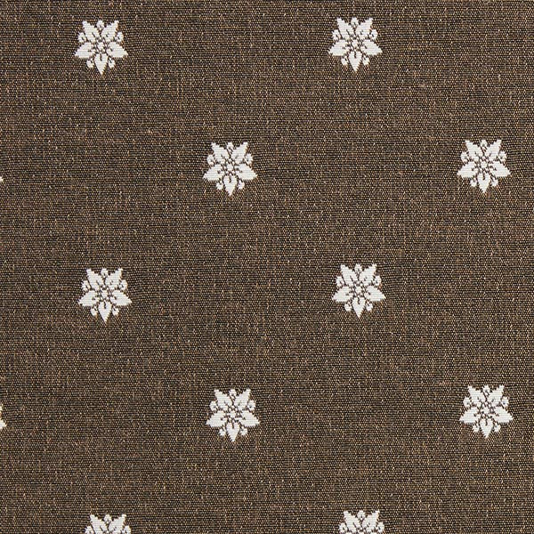 Tissu de décoration Jacquard Noruega – écru/marron