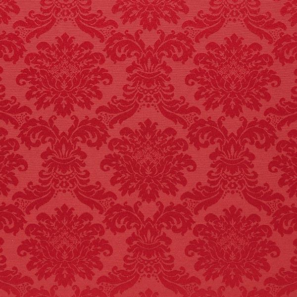 Tissu de décoration Jacquard reina – rouge