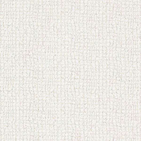 Tissu de décoration Jacquard Grille en Lurex – argent/blanc