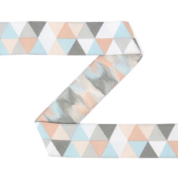 Bande tissée Petits triangles