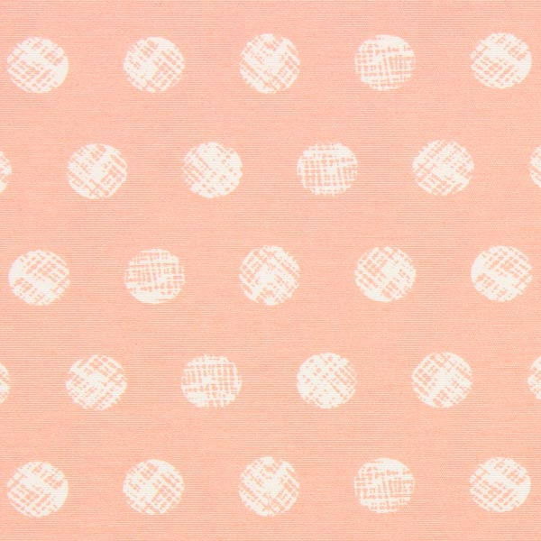 Canvas Pastell Punkte – lachs
