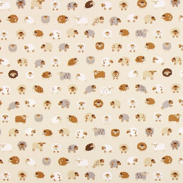 Canvas Moutons – beige