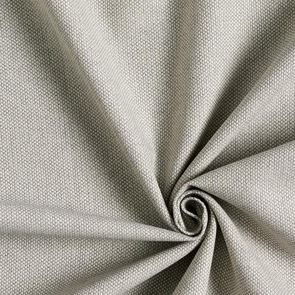 Tissu d'ameublement Jacquard les points Mini – gris clair
