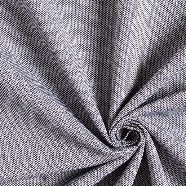 Möbelstoff Jacquard Minipunkte – blau